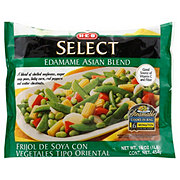 H-E-B Select Steamable Edamame Asian Blend