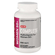 H-E-B Senior Complete Ultimate Women's Multivitamin/Multimineral Tablets