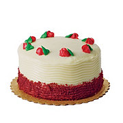 H-E-B Sensational Red Velvet Cake with Cream Cheese Icing