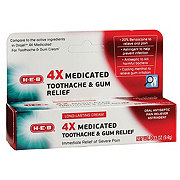 H-E-B Severe Toothache Relief