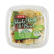 H-E-B Shake Rattle & Bowl Zesty Italian Bowl