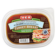 H-E-B Shaved Oven Roasted Turkey Breast Lower Sodium