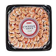 H-E-B Shrimp Cocktail Party Tray