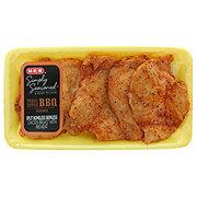 H-E-B Simply Seasoned BBQ Boneless Split Chicken Breasts