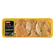 H-E-B Simply Seasoned Jalapeño Chicken Breast Boneless Thin Sliced