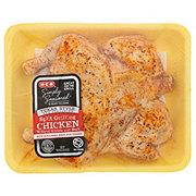 H-E-B Simply Seasoned Texas Style BBQ Split Chicken