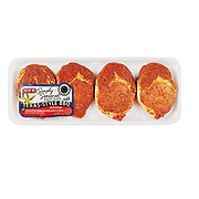 H-E-B Simply Seasoned Texas Style Boneless Pork Ribeye Chops
