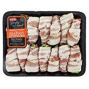 H-E-B Simply Wrapped Bacon Jalapeno with Seafood Stuffing Poppers