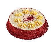 H-E-B Single Layer Red Velvet Cake