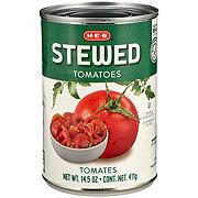 H-E-B Sliced Stewed Tomatoes