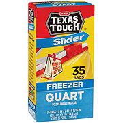 H-E-B Slider Quart Size Freezer Bags