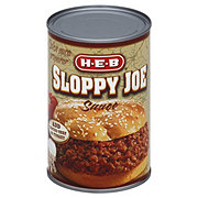 H-E-B Sloppy Joe Sauce
