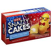 H-E-B Snazzy Cakes Golden Creme Cakes