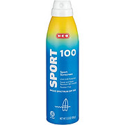 H-E-B Solutions Sport Broad Spectrum Sunscreen Spray SPF 100