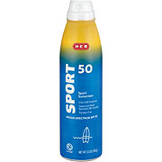 H-E-B Solutions Sport Broad Spectrum Sunscreen Spray SPF 50
