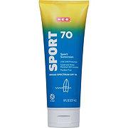 H-E-B Solutions Sport SPF 70 Sunscreen
