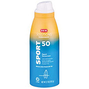 H-E-B Solutions Sunscreen Sport SPF 50