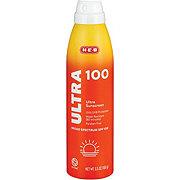 H-E-B Solutions Ultra Broad Spectrum Sunscreen Spray SPF 100