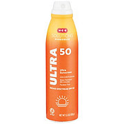 H-E-B Solutions Ultra Broad Spectrum Sunscreen Spray SPF 50