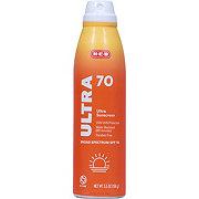 H-E-B Solutions Ultra Broad Spectrum Sunscreen Spray SPF 70