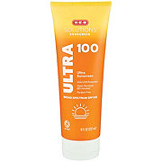 H-E-B Solutions Ultra Protection Broad Spectrum Sunscreen Lotion SPF 100