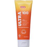 H-E-B Solutions Ultra SPF 100 Sunscreen