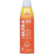 H-E-B Solutions Ultra SPF 50Sunscreen Spray