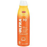 H-E-B Solutions Ultra SPF 70Sunscreen Spray