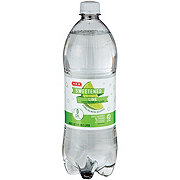 H-E-B Sparkling Sweetened Lime Water Beverage