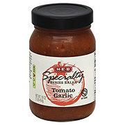 H-E-B Specialty Series Tomato Garlic Salsa