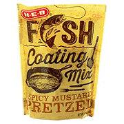 H-E-B Spicy Mustard Pretzel Fish Coating Mix