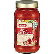 H-E-B Spicy Red Pepper Pasta Sauce