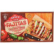 H-E-B Spicy Seasoned Boneless Skinless Chicken Thighs for Fajitas