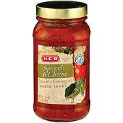 H-E-B Spinach & Cheese Pasta Sauce