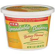 H-E-B Spreadable Balance Buttery Spread