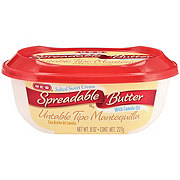 H-E-B Spreadable Salted Sweet Cream Butter with Canola Oil