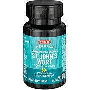 H-E-B St. John's Wort 300 mg Capsules