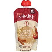 H-E-B Stage 2 Baby Apple Cinnamon Oat