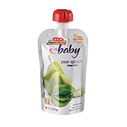 H-E-B Stage 2 Baby Pear Spinach