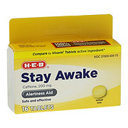 H-E-B Stay Awake Maximum Strength Tablets