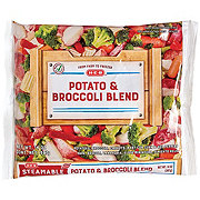 H-E-B Steamable Baby Potato & Broccoli Blend