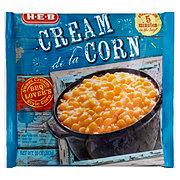 H-E-B Steamable Cream De La Corn