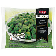 H-E-B Steamable Sauced Brussels Sprouts with Butter Sauce