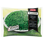 H-E-B Steamable Sauced Petite Peas with Butter Sauce