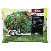 H-E-B Steamable Sauced Texas Style Green Beans