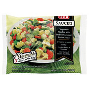 H-E-B Steamable Sauced Vegetable Medley with Italian Seasoned Butter Sauce