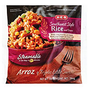 H-E-B Steamable Southwest Style Rice and Beans