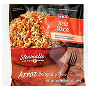 H-E-B Steamable Wild Rice