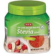 H-E-B Stevia Extract Jar
