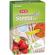 H-E-B Stevia Extract Packets